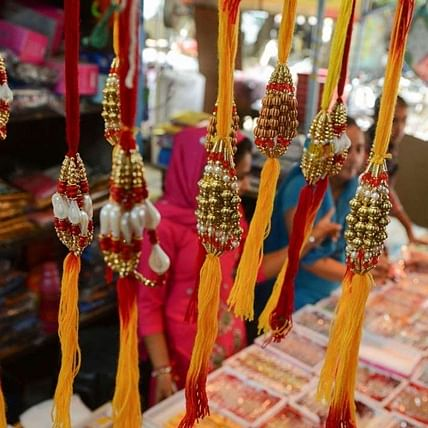 Ahead of Raksha Bandhan festival, demand for Chinese rakhis fall