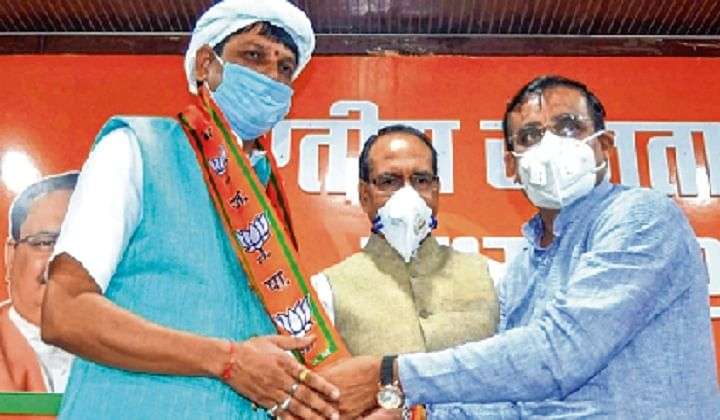 MP MLA quits Cong, joins BJP; gets plum post within hours