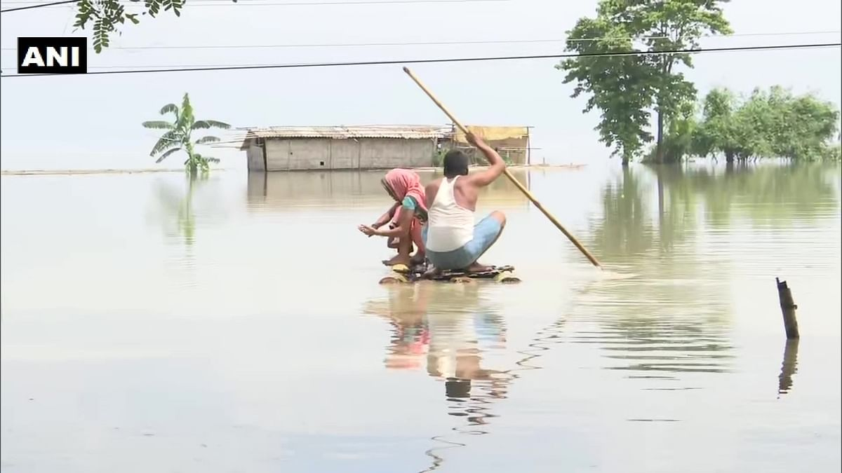 In Pics: 76 dead, nearly 54 lakh affected due to Assam floods
