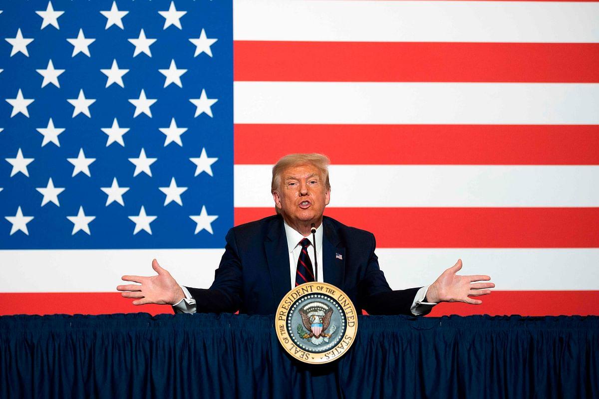 Voting delay? President Donald Trump walks back