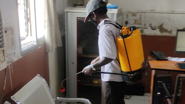 SER conducts massive cleanliness & sanitisation drive to prevent the spread of Covid-19