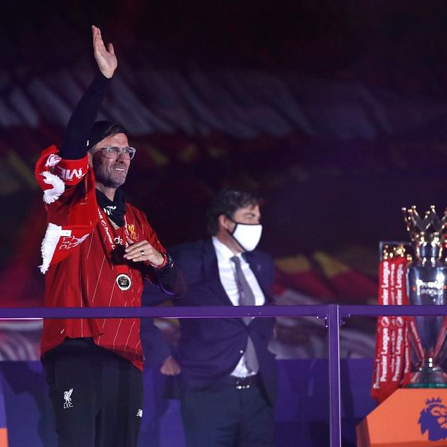 'It was very special': Liverpool manager Jurgen Klopp after lifting the Premier League trophy at 'The Kop'