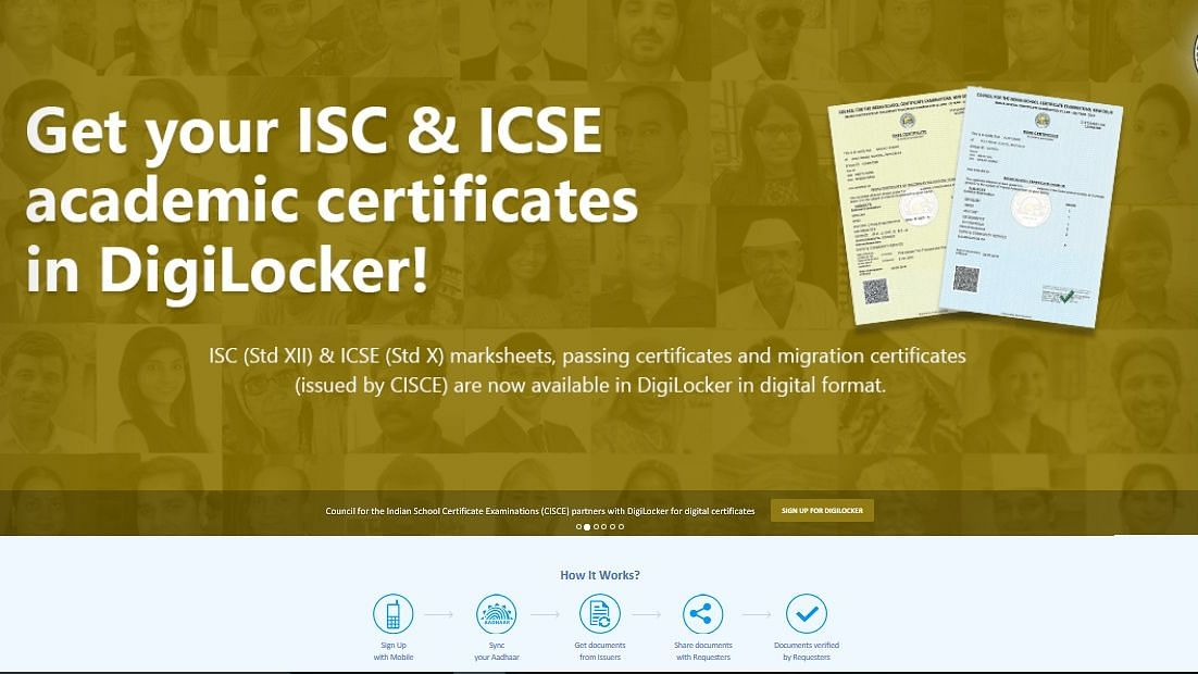 ICSE & ISC results 2020: How to download the digitally signed documents from digilocker.gov.in?