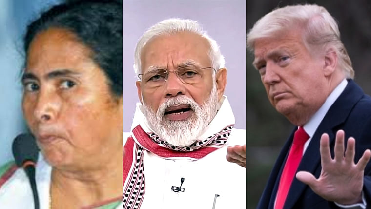 Watch: This ultimate mash-up featuring Mamata, Modi and Trump will lift your spirits
