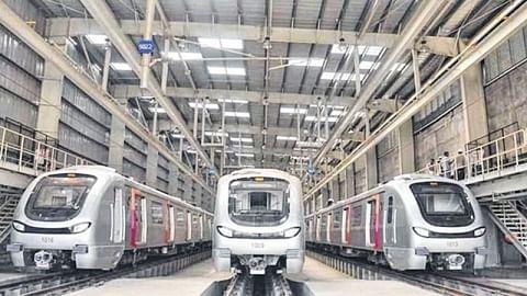 Kalbadevi, Girgaon, Acharya Atre stations lag in Metro work