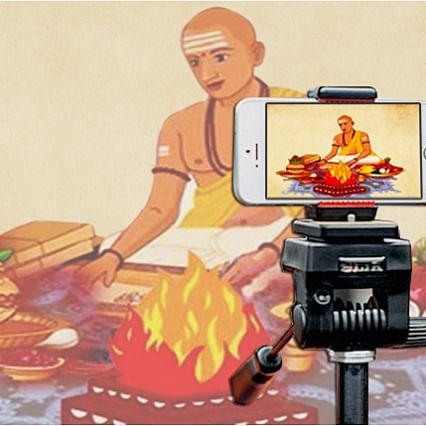 Lockdown effect: With temples shut, desi pujaris go digital