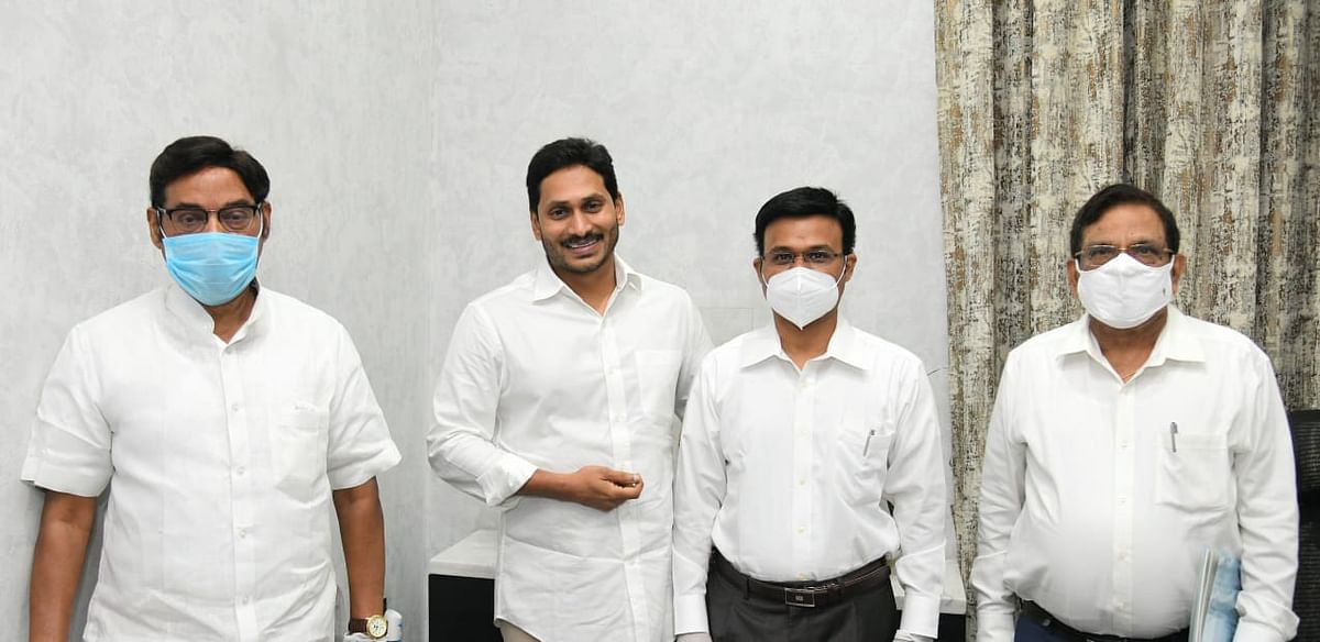 CM YS Jagan Mohan Reddy extends his support towards the development of SRM University- AP