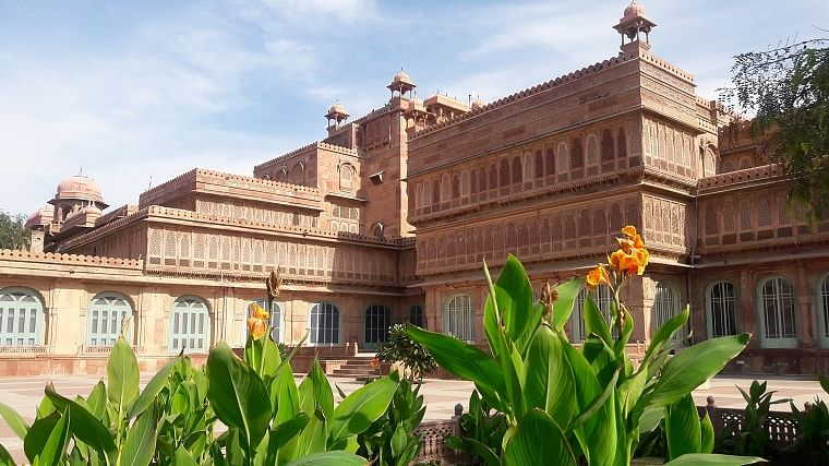 Laxmi Niwas Palace exterior