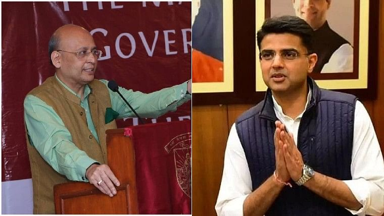 'We both had a good laugh', says Abhishek Manu Singhvi after Sachin Pilot approached him for legal help