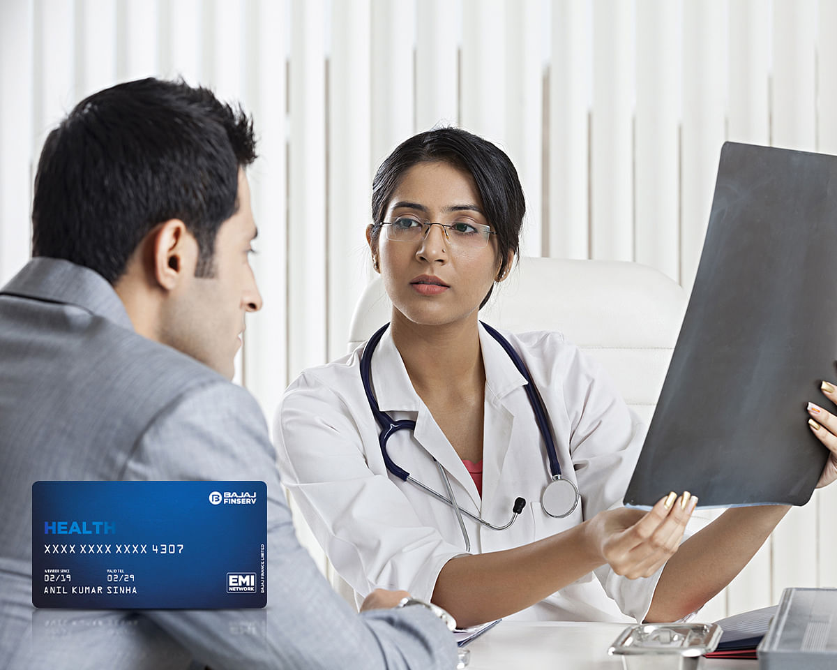 5 ways to address health problems with the Bajaj Finserv Health EMI Network Card