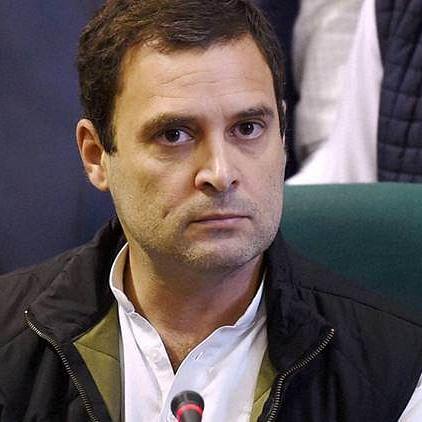 Modi Govt's 'Gabbar Singh Tax' reason for historic decline in GDP: Rahul Gandhi