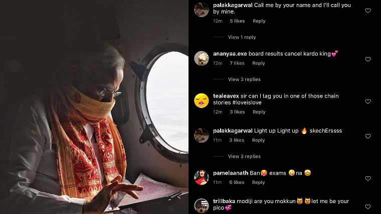 'Notice me senpai': After TikTok ban, lots of thirsty Instagrammers are posting on PM Modi's profile