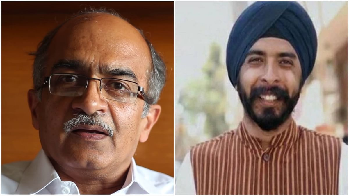 Prashant Bhushan raises questions about Vikas Dubey's 'encounter', Tajinder Bagga says 'PIL Daal Le'