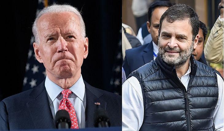 Joe Biden promises to revoke H1-B visa suspension, Rahul Gandhi hails comment