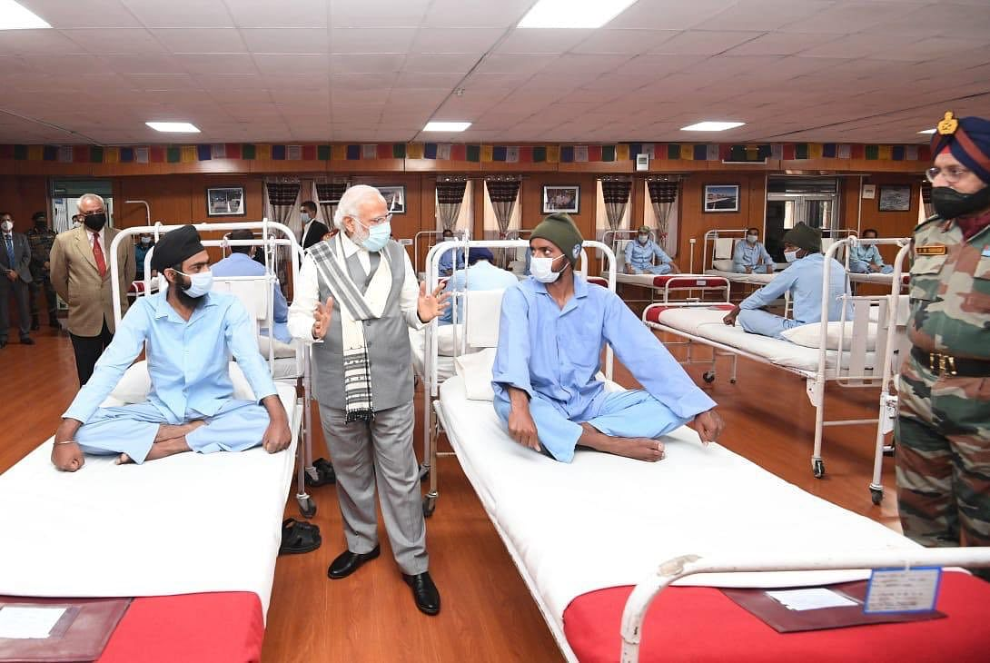 Defence Ministry rubbishes 'malicious and unsubstantiated accusations' of 'staged hospital' for PM Modi's Leh visit