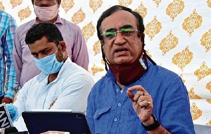 Former Union Minister Ajay Maken