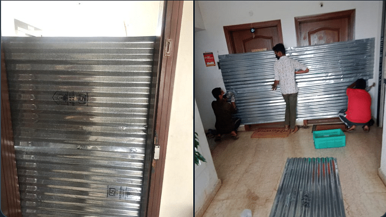 'Might as well send a coffin': Netizens shocked with BBMP's extreme measures in building with corona-positive case