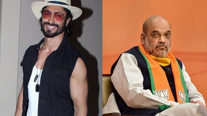 Vidyut Jammwal accidentally sends virtual hug to Amit Shah ...