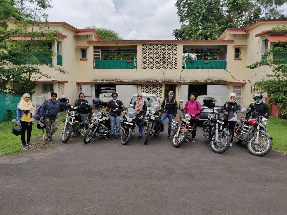 Unlock – The New Trend in Indore: Women finding their calling, becoming a biker