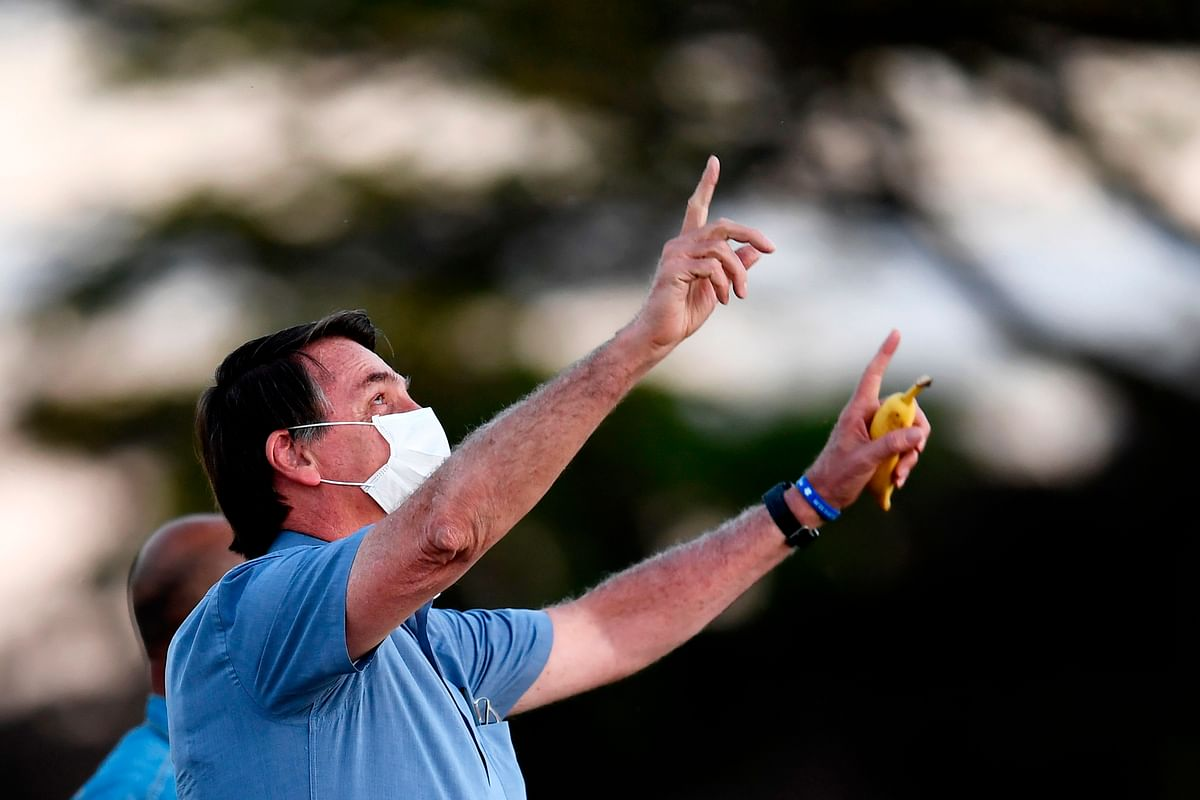 Brazilian President Jair Bolsonaro is now fit and fine