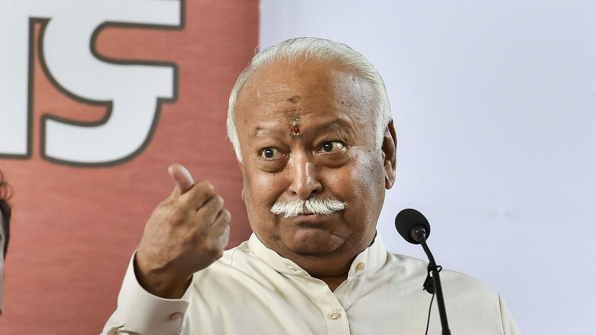 Madhya Pradesh: Mohan Bhagwat keeps an eye on Shivraj's government, takes classes of ministers on education, culture and society