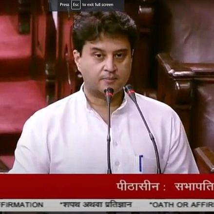 Jyotiraditya Scindia, Priyanka Chaturvedi, other new Rajya Sabha MPs take oath