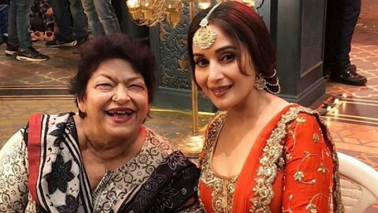 'I'm devastated': Madhuri Dixit mourns demise of her friend and guru Saroj Khan