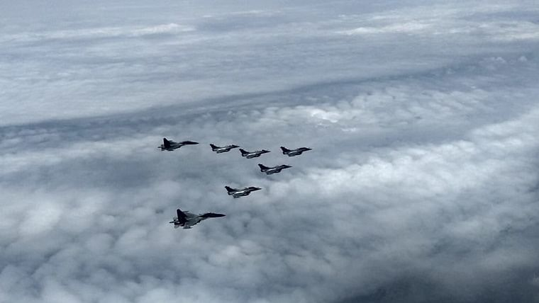 In pics and video: At long last, 5 Rafales come to India