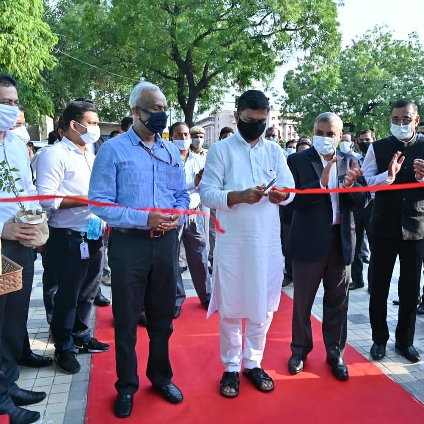 Power minister launches EESL's initiative for clean, green office spaces