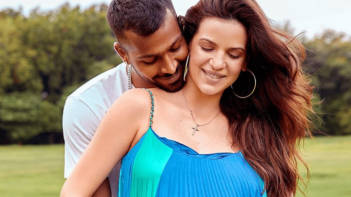 Hardik Pandya and fiance Natasa Stankovic flaunt baby bump in adorable picture