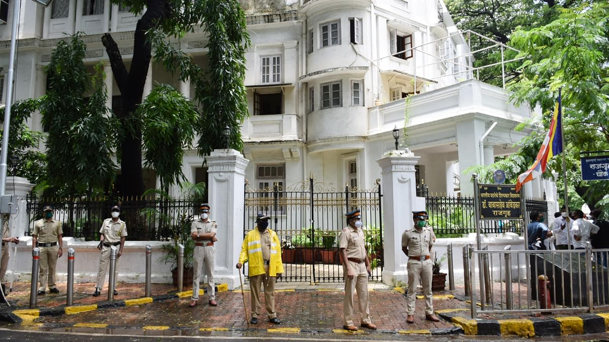 Police detain youth in connection with vandalism at Dr DR Ambedkar's residence 'Rajgruha' in Mumbai