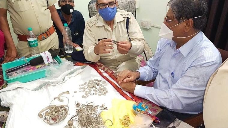 Ancient treasures: 5 kg silver, 200 grams of gold found in Ujjain's Mahidpur