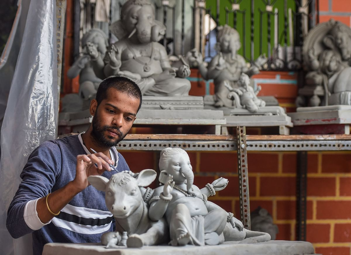 Ganeshotsav 2020: To beat lockdown worries, NGO offers free Ganesh idols to sarvajanik mandals