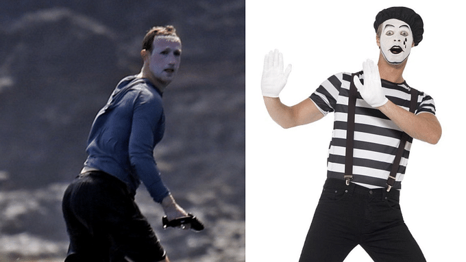 Mark Zuckerberg surfing in Hawaii with 'too much sunscreen' is internet's latest meme