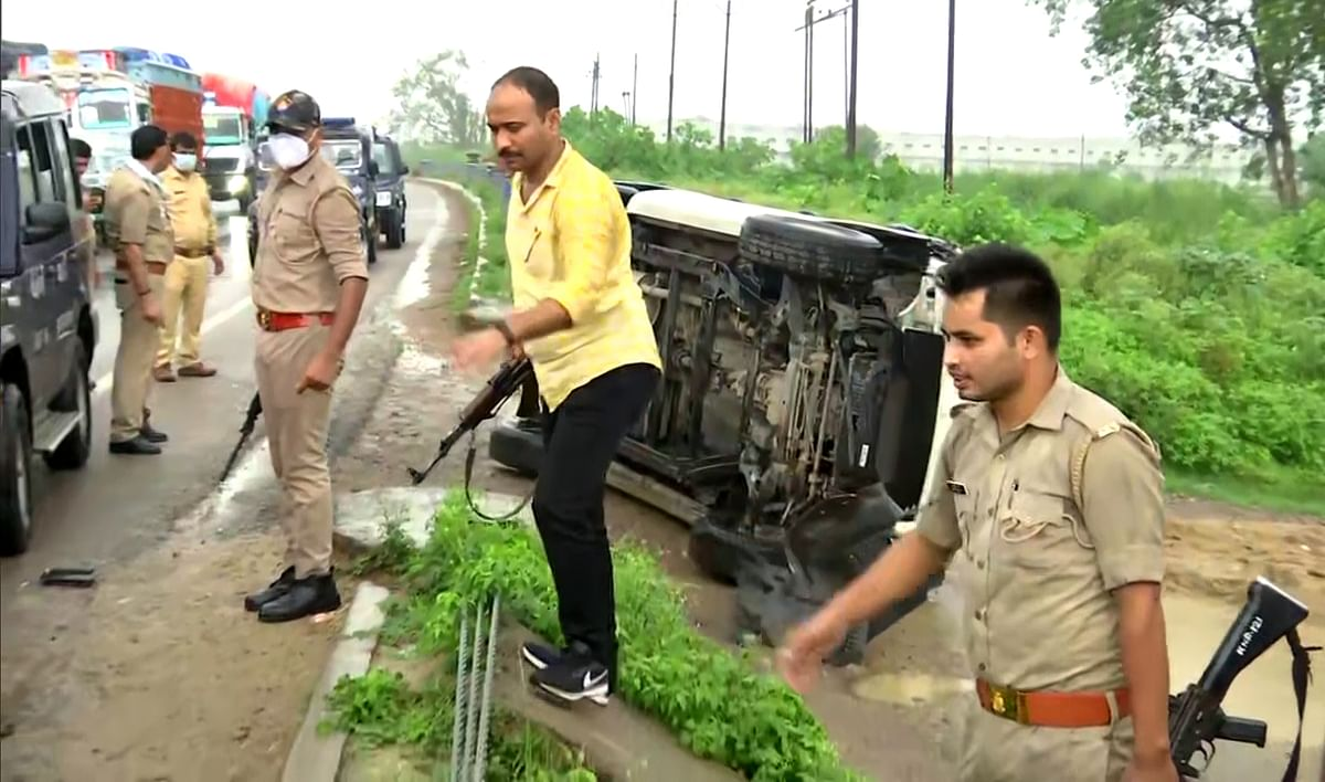 Vikas Dubey was killed in an encounter in the morning of July 10 when a police vehicle carrying him from Ujjain to Kanpur met with an accident and he tried to escape from the spot in the Bhauti area in Sachendi