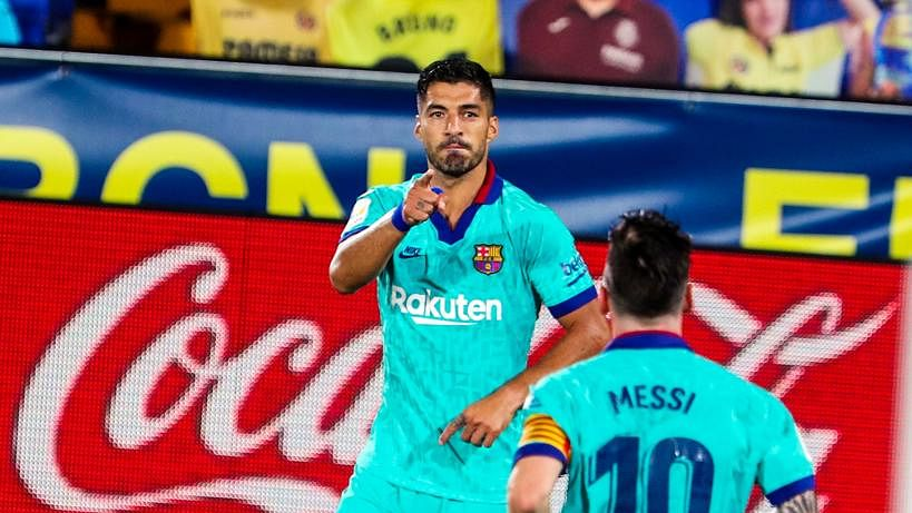 La Liga highlights: Luis Suarez becomes Barcelona's third-highest goalscorer after scoring in 4-1 victory against Villarreal