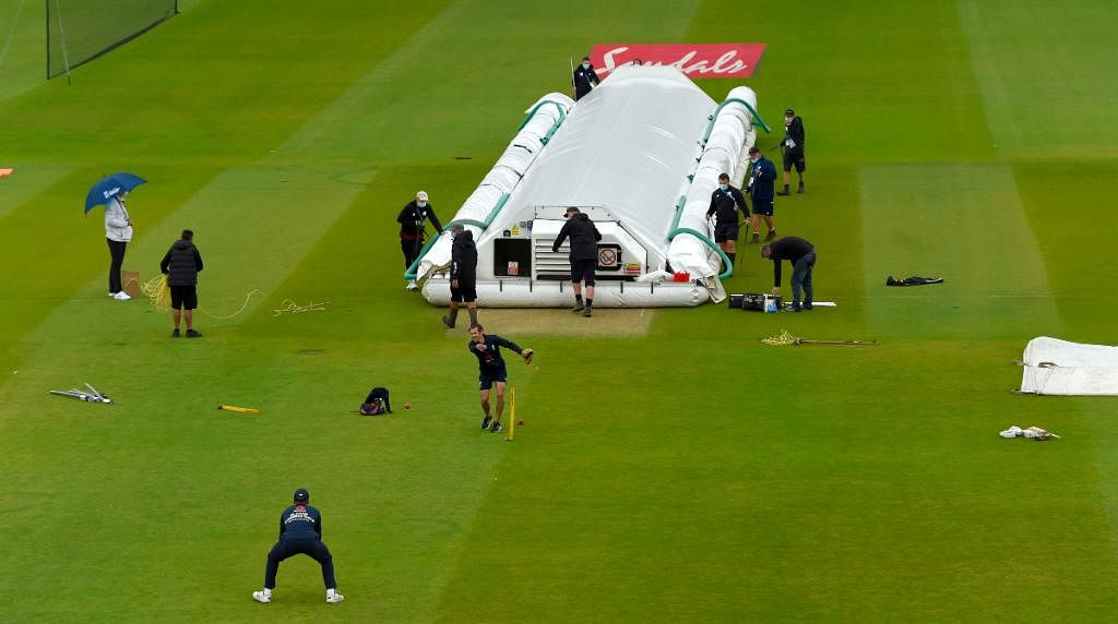 England vs West Indies 1st Test: Rain plays spoilsport in first cricket match post COVID-19 hiatus