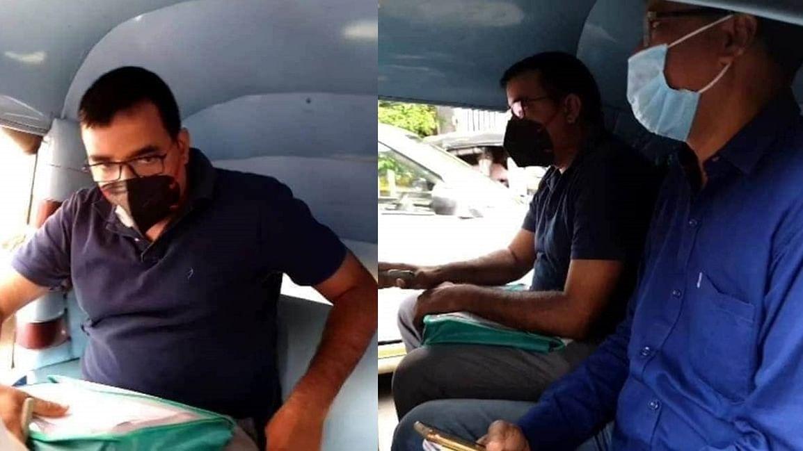 'How shameful': Twitterati fume over Bihar police traveling by auto-rickshaw in Mumbai