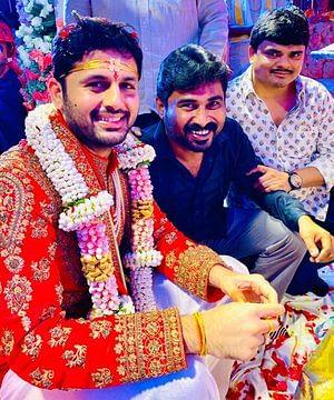 In Pics: Telugu star Nithiin ties the knot with his girlfriend Shalini Kandukurion
