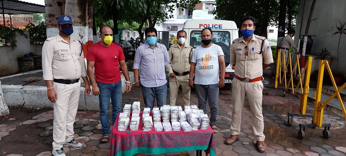 Indore: Three-member gang of tricksters arrested