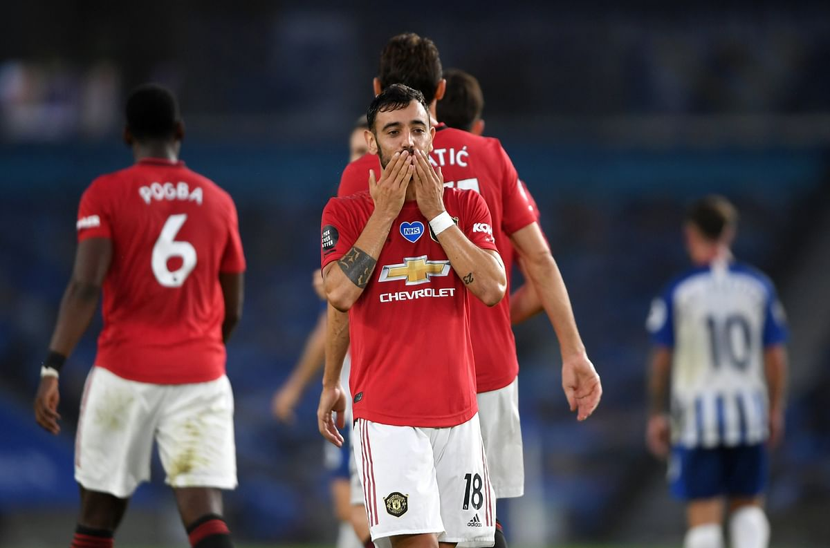 Watch Premier League highlights: Bruno Fernandes double gives Manchester United 3-0 win over Brighton