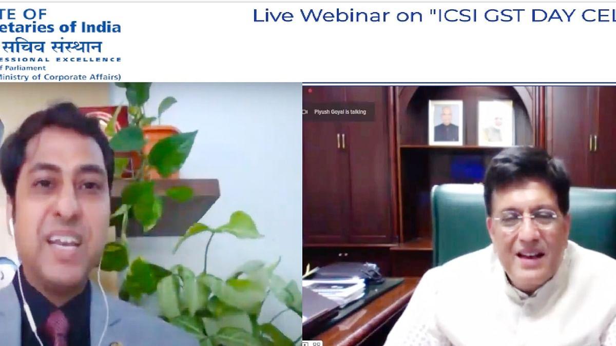 ICSI Celebrates GST Day