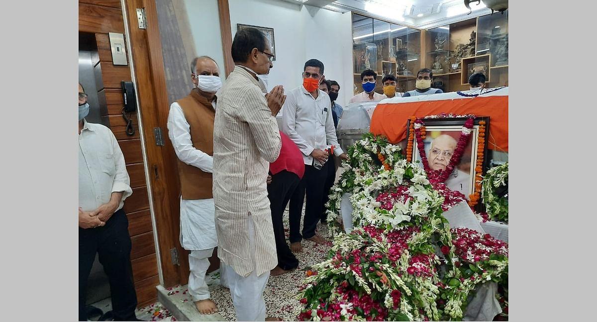 Madhya Pradesh: Chief minister Shivraj Singh Chouhan, former CM Kamal Nath mourn the demise of Governor Lalji Tandon