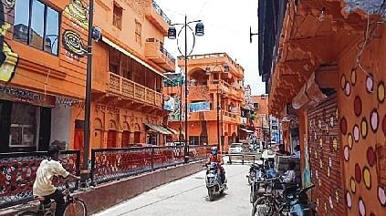 Uttar Pradesh minister paints lane in saffron, citizens see red