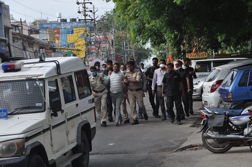 Gangster Vikas Dubey arrested in Madhya Pradesh's Ujjain
