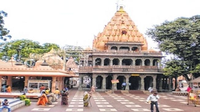 Ujjain: Mahakal temple, which got visited by Vikas Dubey, will no longer accept visitors from outside MP due to COVID-19