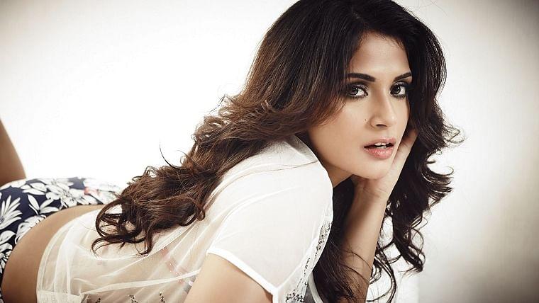 Richa Chadha shoots for a new sci-fi short film