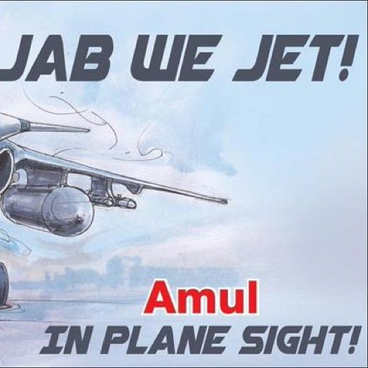 Jab we Jet: Check out Amul's tribute to Rafale deal