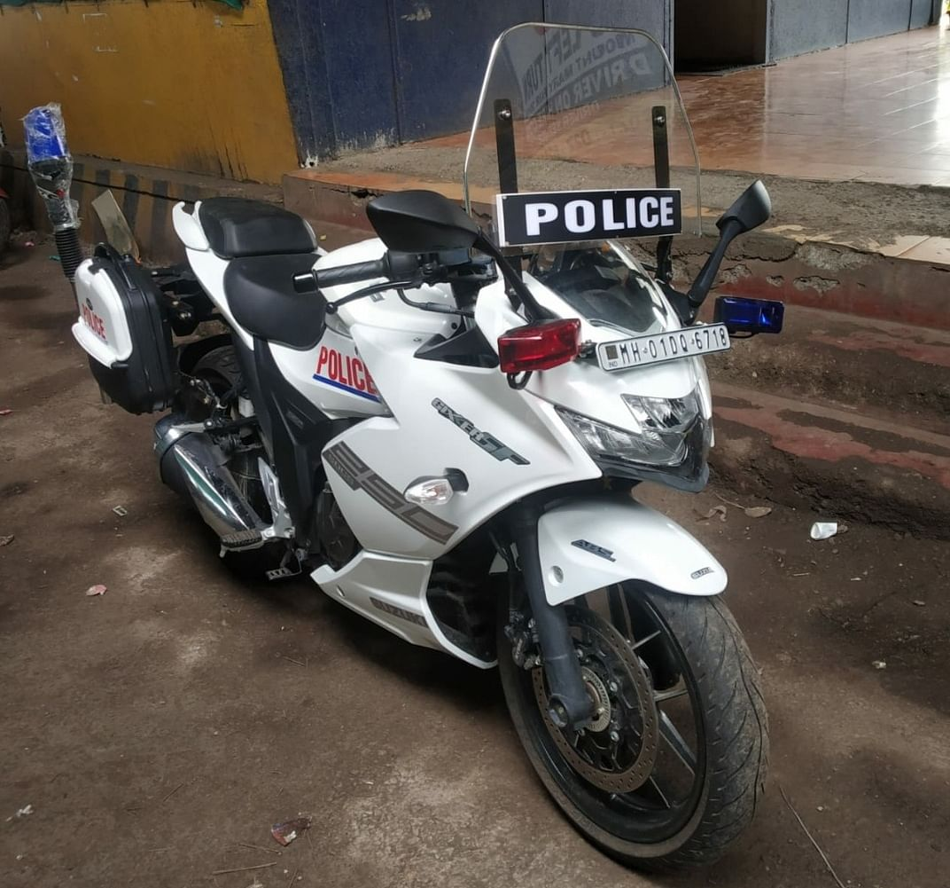 Traffic police get 10 customised sports bikes