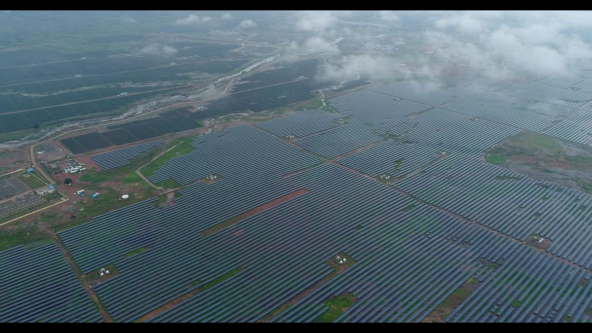Rewa Ultra Mega Solar project in Madhya Pradesh